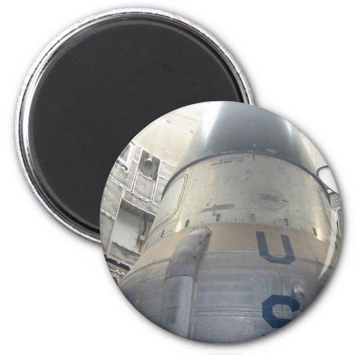 US ICBM Nuclear Missle Magnet