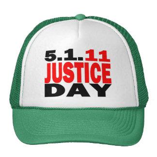 US JUSTICE DAY 5/1/2011 - bin Laden Dead Trucker Hat