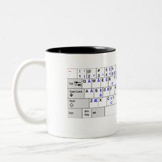 US key assignment Two-Tone Coffee Mug