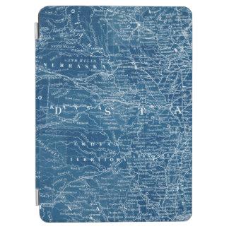 US Map Blueprint iPad Air Cover