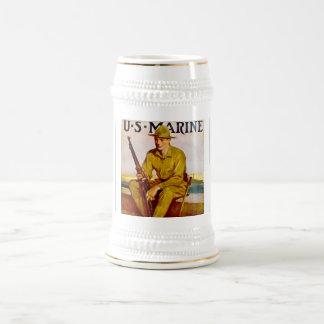 US Marine Beer Steins
