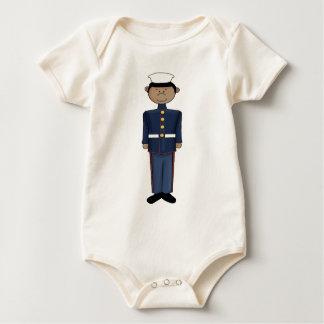 US Marine Corp Boy Baby Bodysuit