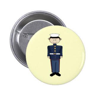 US Marine Corp Boy Pinback Button