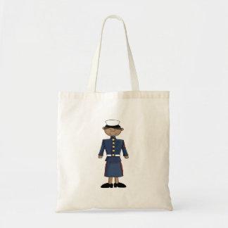 US Marine Corp Girl Budget Tote Bag