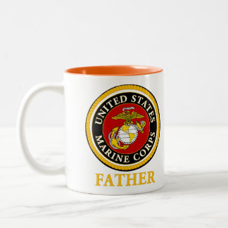 US Marine Official Seal - Father Coffee Mug