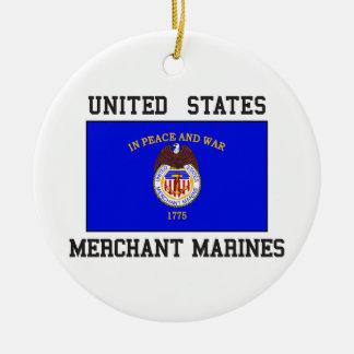 US Merchant Marine Ceramic Ornament