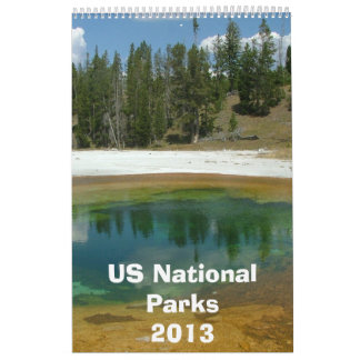 US National Park Calendar 2013