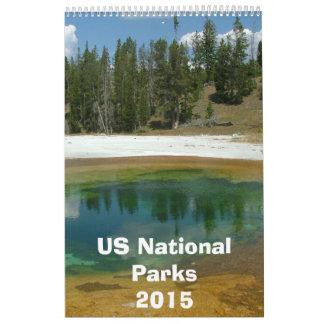 US National Park Calendar 2015
