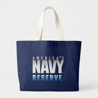 US Navy | America's Navy Reserve Large Tote Bag