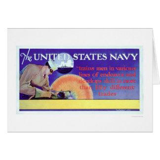 US Navy Trains (US02159) Greeting Card