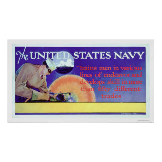 US Navy Trains (US02159) Poster