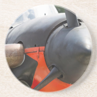 US Navy World War II T-34 Mentor Trainer Aircraft Coaster