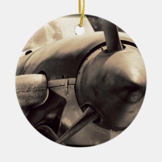 US Navy World War II T-34 Mentor trainer Ceramic Ornament