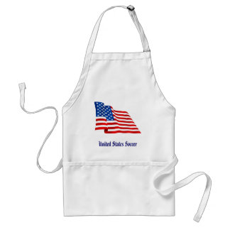 US old glory flag of the United States Standard Apron