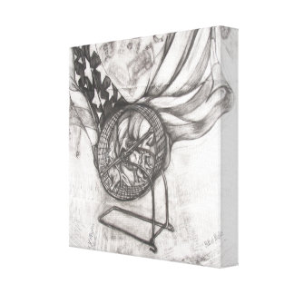 Us politics gallery wrapped canvas