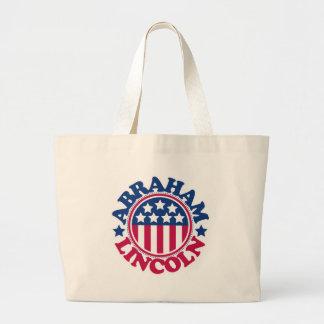 US President Abraham Lincoln Canvas Bag