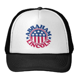 US President Abraham Lincoln Mesh Hat