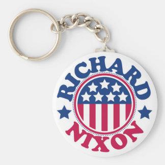 US President Richard Nixon Keychain