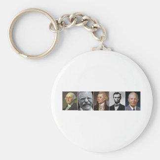 US Presidents Key Ring