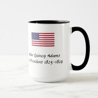 US Presidents Souvenir Mug - John Quincy Adams