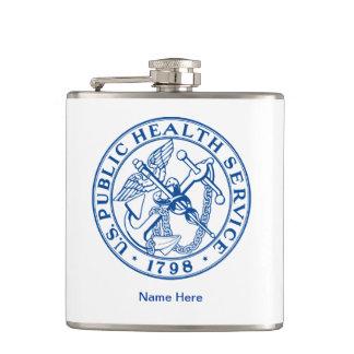 US Public Health Service Hip Flask