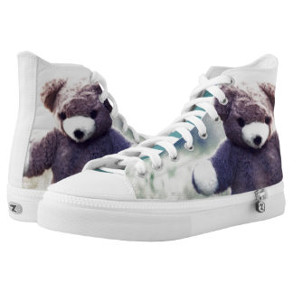 Us Real Bears Love Outdoors Printed Shoes