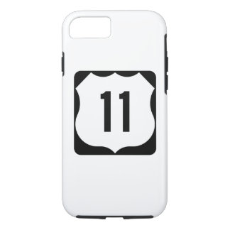 US Route 11 Sign iPhone 7 Case