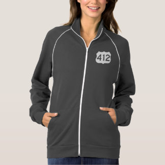 US Route 412 Sign Jacket