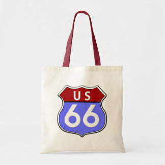 US Route 66 Legendary Budget Tote Tote Bags