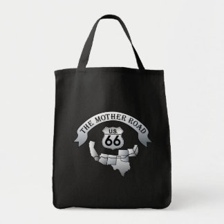 US Route 66 Mother Road Tote Bag