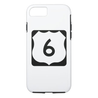 US Route 6 Sign iPhone 7 Case