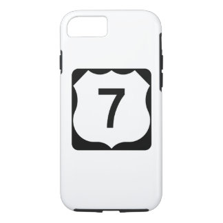 US Route 7 Sign iPhone 8/7 Case