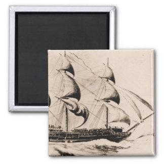 US Ship Bonhomme Richard at sea Magnet