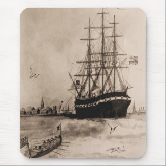US Ships Alfred 1775 Mouse Pad
