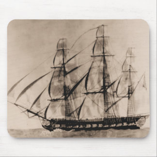 US Ships Essex 1800 Mouse Pad