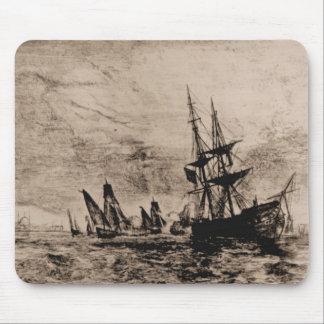 US Ships Philadelphia 1800 Mouse Pad