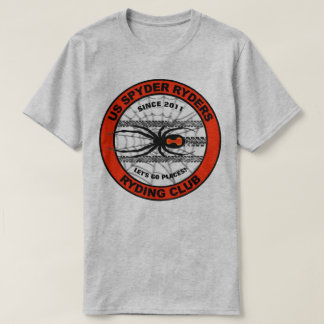 US Spyder Ryders - Spyder Tracks Circle Logo T-Shirt