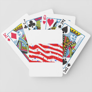 Us Stars And Stripes America Flag American Flag Bicycle Playing Cards