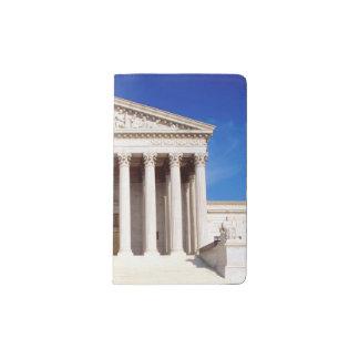 US Supreme Court building, Washington DC, USA Pocket Moleskine Notebook