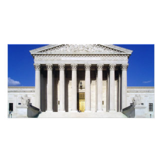 US Supreme Court Custom Photo Card