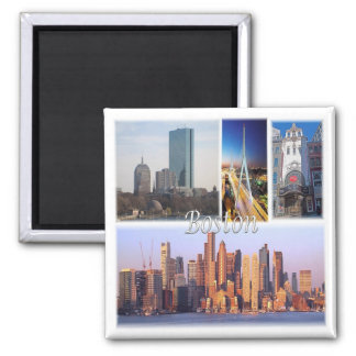 US * U.S.A. - Boston Massachusetts Usa Magnet