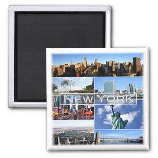 US * U.S.A. - New York Magnet