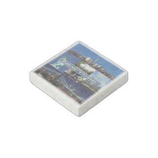 US   U.S.A. - New York - Mosaic - Stone Magnet