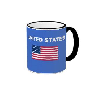 US UNITED STATES* Country Code Mug