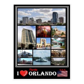 US United States of America -  Orlando Florida - Postcard