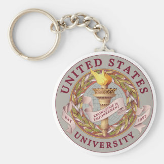 US University Keychain