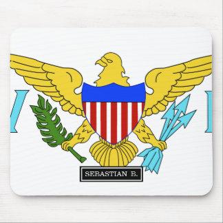 US Virgin Islands flag Mouse Pad