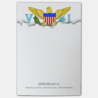 US Virgin Islands flag Post-it® Notes