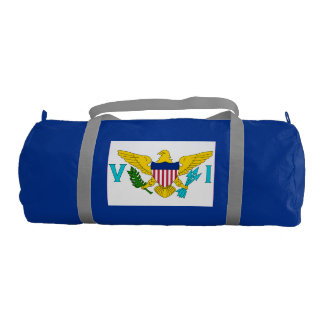 US Virgin Islands Gym Duffel Bag