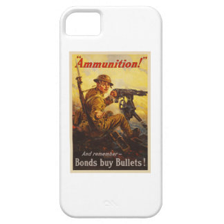 US War Bonds Ammunition WWI Propaganda iPhone 5 Case